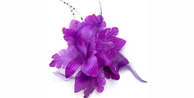 Flower Hair Clips.