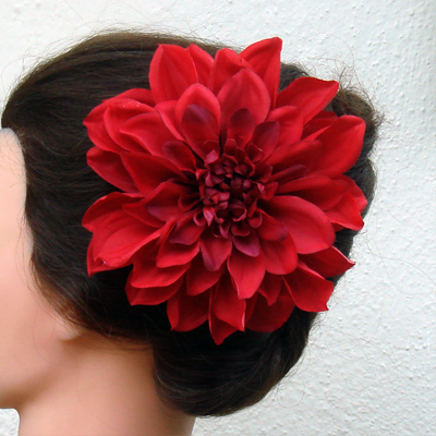 Large Flower Clips.