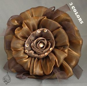 LARGE FLOWER HAIR CLIPS.