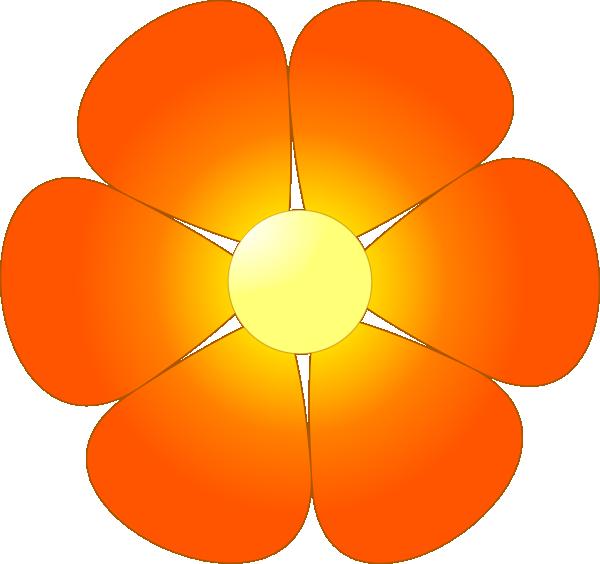 Flower 34 Clip Art at Clker.com.