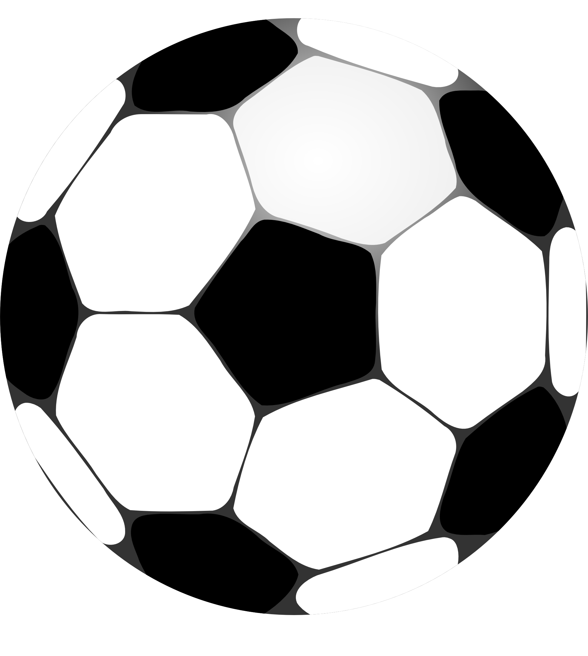 Soccer ball clip art free large images 4.