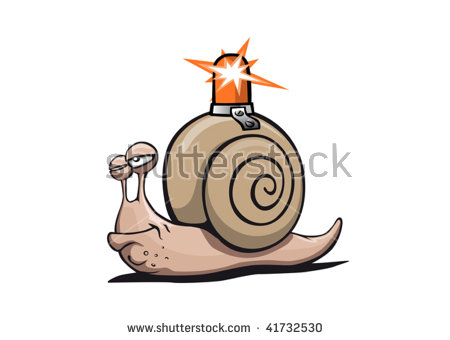 Large Garden Snail Stock Vectors & Vector Clip Art.