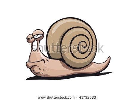 Large Garden Snail Stock Vectors & Vector Clip Art.