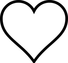 Heart Shaped Clipart.