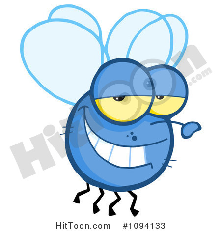 House Flies Clipart.