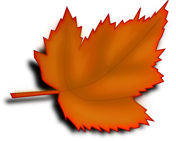Large Leaves Clipart Clipground