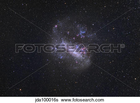 Stock Images of Large Magellanic Cloud jda100016s.