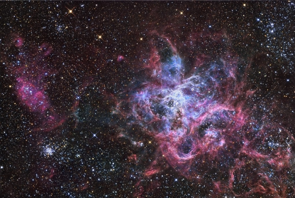 Tarantula nebula clipart.
