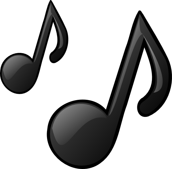 Music Notes PNG, SVG Clip art for Web.