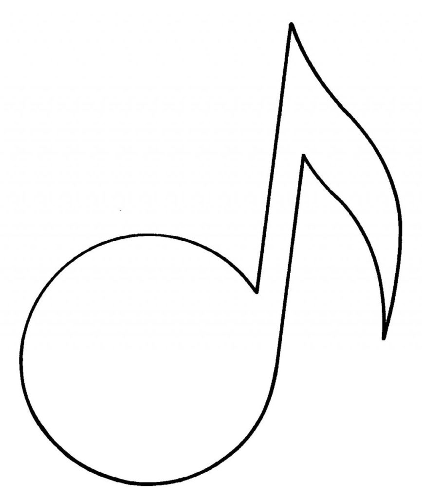 Coloring Pages : Coloring Music Notes Colorings Printable.