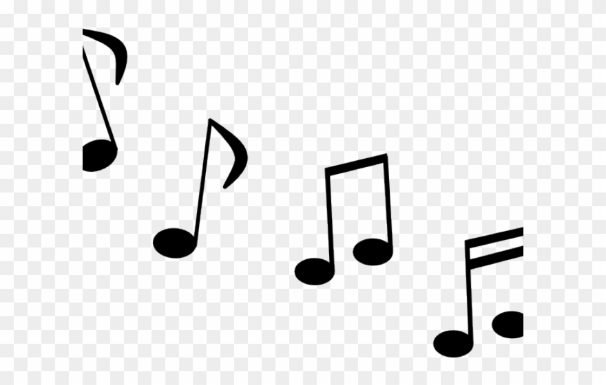 Musical Notes Clipart Large Music.
