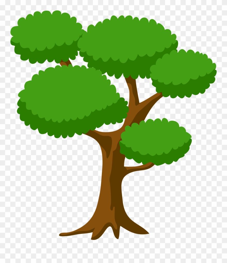 Tree Large Png Clip Art Image Transparent Png (#1155.
