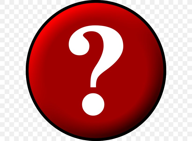 Question Mark Red Clip Art, PNG, 600x600px, Question Mark.