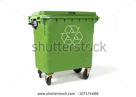 Large Waste Bin Stock Photos, Royalty.