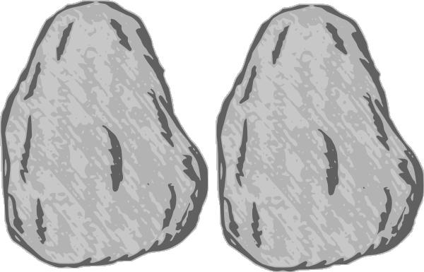 Double Rock 1 Clip Art at Clker.com.