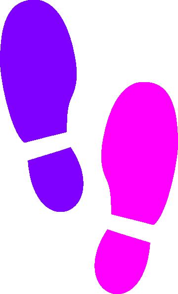 Shoe Prints Clip Art at Clker.com.