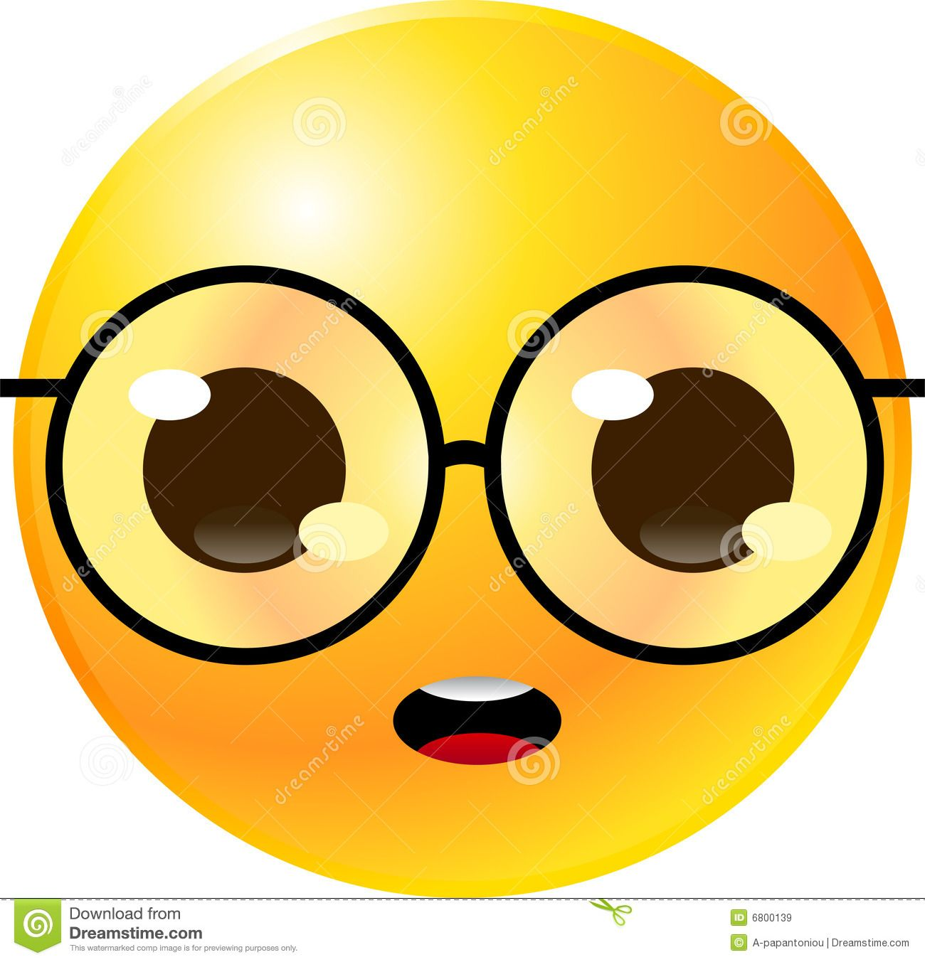 large smiley face clip art #6