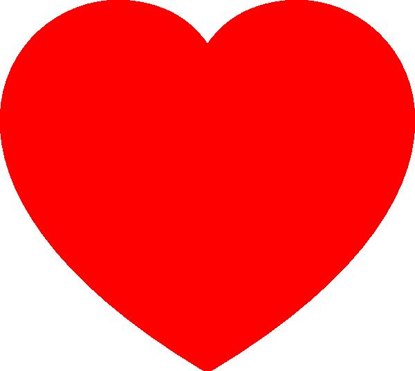 Solid Black Heart Clip Art at Clker.com.