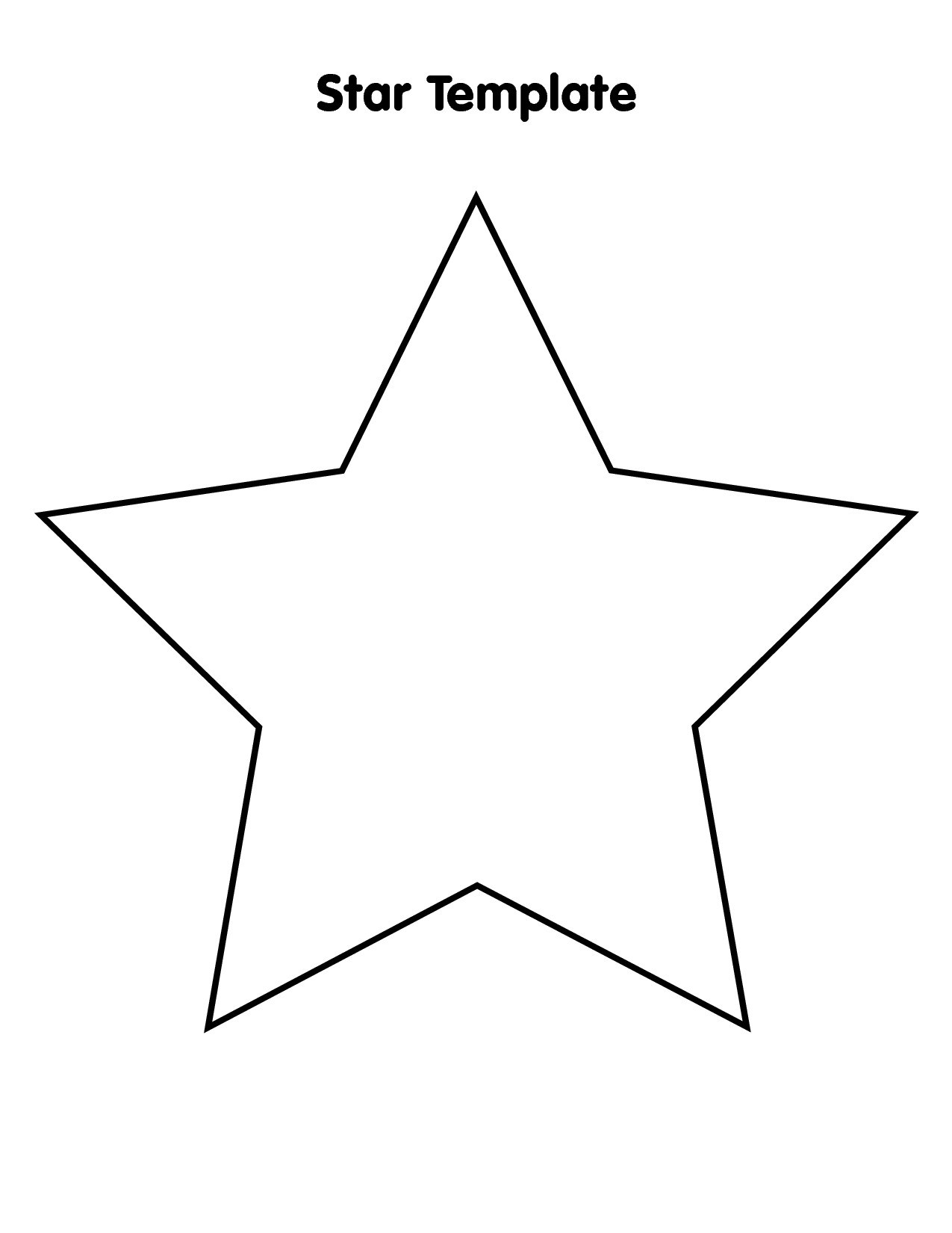 Large star clipart 4 » Clipart Portal.