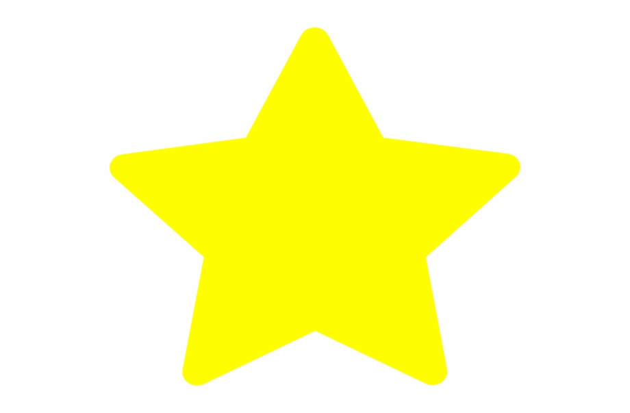 Large Star Template Http Www Clker Com Clipart Yellow.