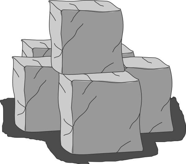 Stone Blocks Clip Art at Clker.com.