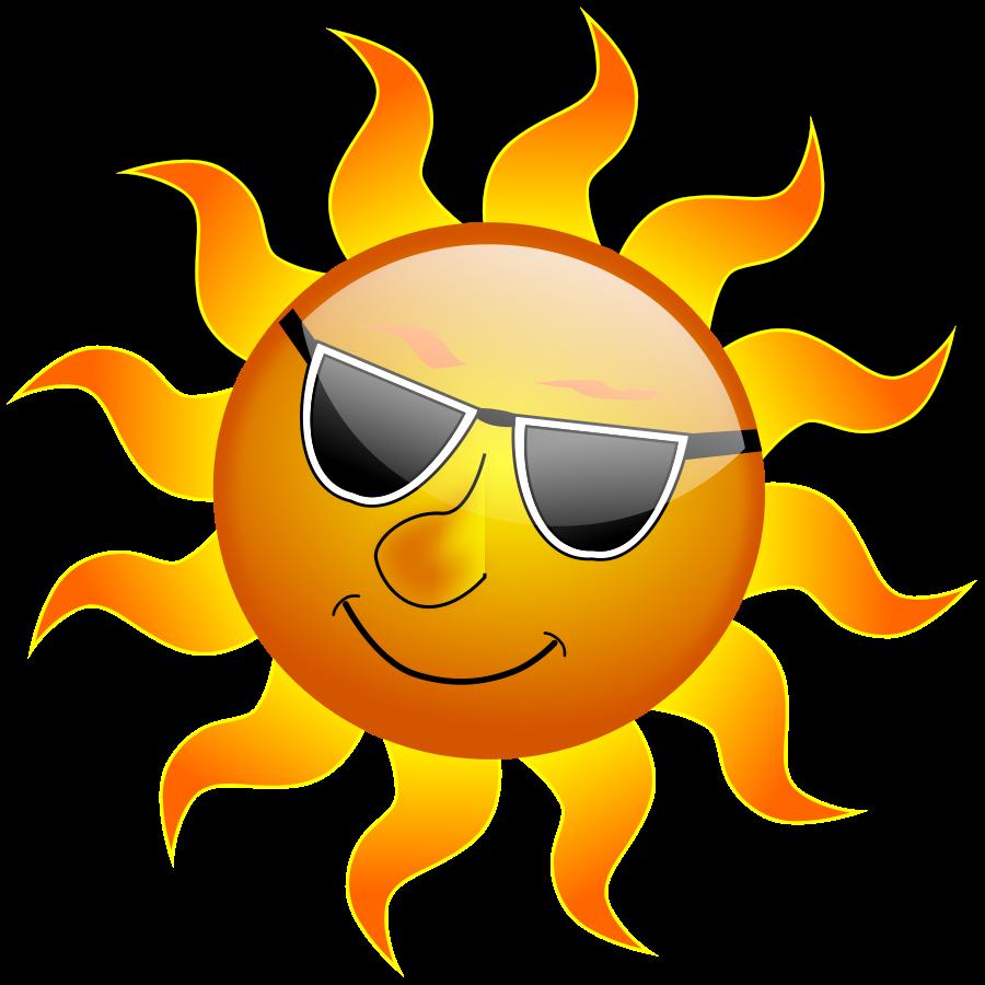 Large Sun Clipart.