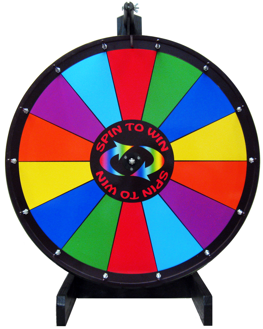 Prize Wheel Clipart.