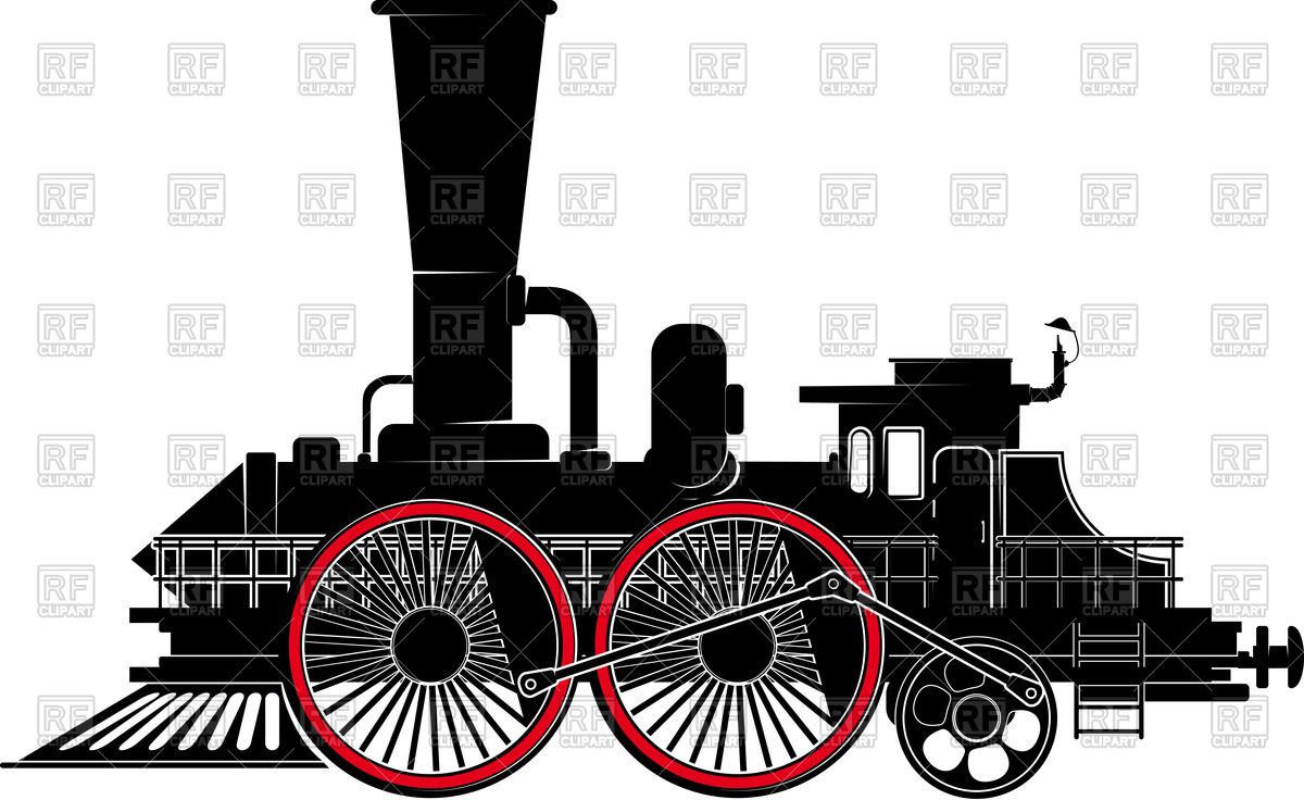 Fantastic locomotive with large wheels.
