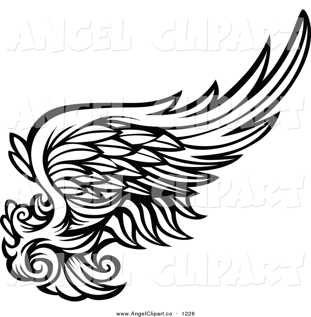 angel wings svg downloads outline download vector clip art online.