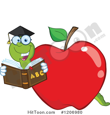 Preview Larger Clipart, Bookworm Free Clipart.
