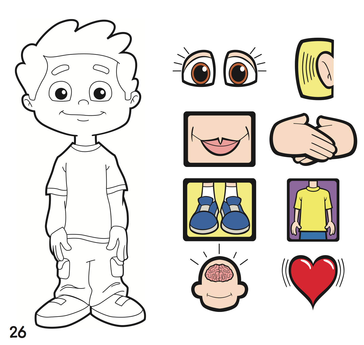 Whole Body Listening Clipart.