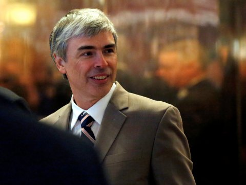 Larry Page: The Google founder's life and career, in photos.