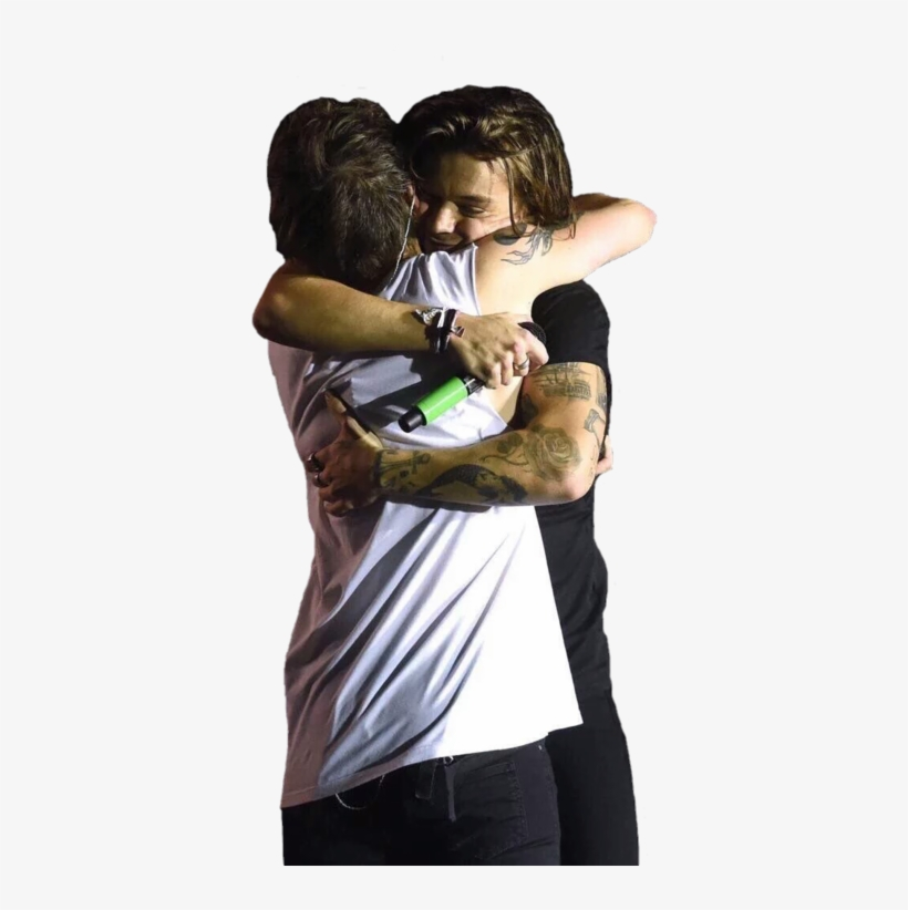 Larry, Harry Styles, And Louis Tomlinson Image.