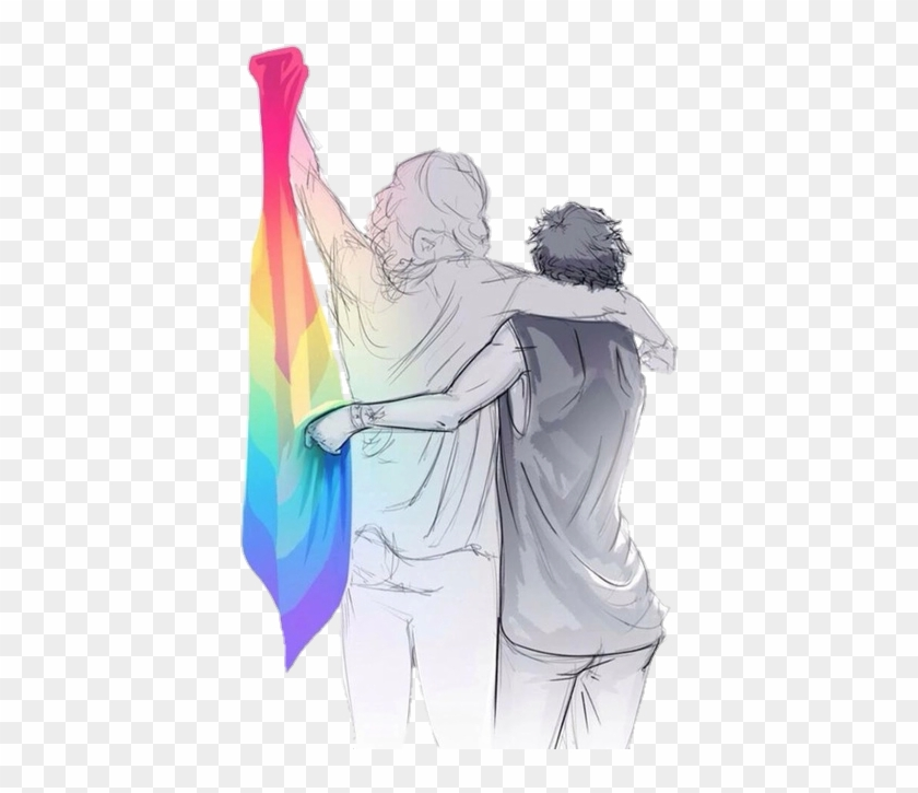 Larry, Larry Stylinson, And Harry Styles Image.
