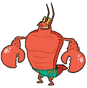 Larry the Lobster.