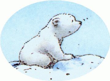 Polar bear free to use clip art.