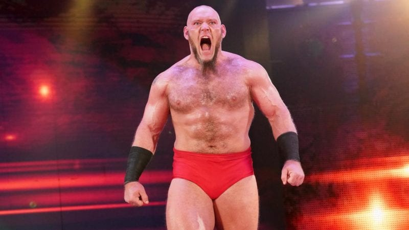 Lars Sullivan reportedly apologized to WWE for his bigoted.