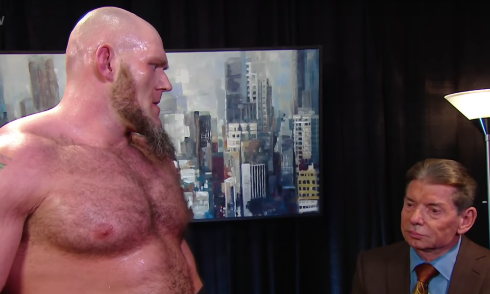 Lars Sullivan Fined $100K By WWE for Racist Posts, Will.