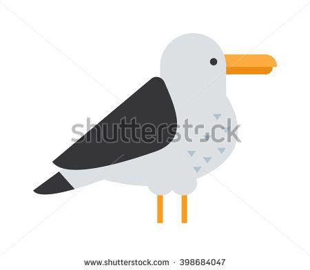 Gull Flight Bird And Seabird Gull. Natural Larus Gull Beach Free.