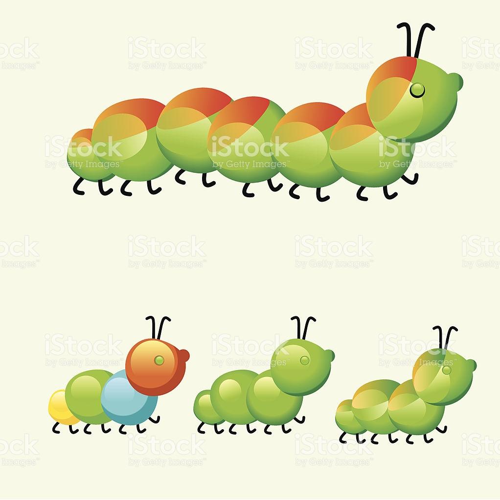Summer Kids Caterpillar stock photo 159189795.