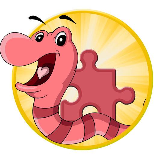 Kids Larva Summer Jigsaw Puzzle Game Version.