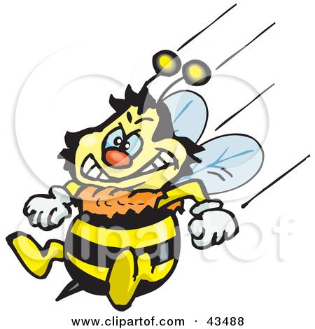Larva Bee Clipart.
