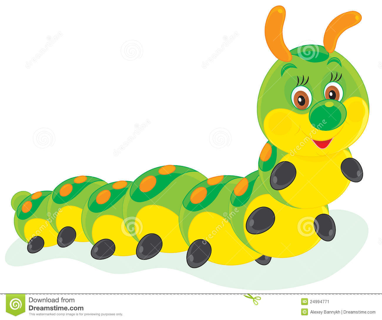 Larva Stock Illustrations.