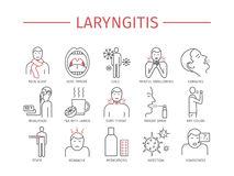 Laryngitis Stock Illustrations.