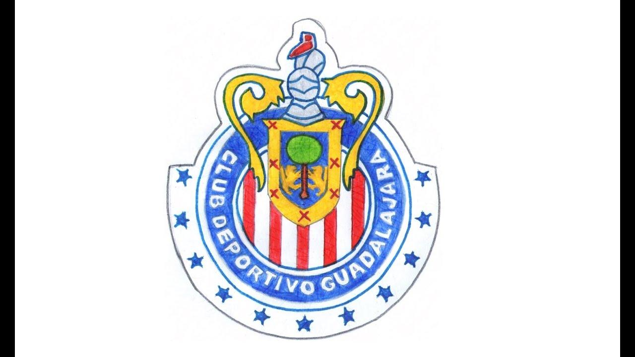 Comment dessiner le logo du Chivas de Guadalajara pas à pas (football  mexicain, CD).