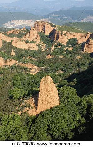 Pictures of Spain, Castilla leon, Leon, Las medulas, Medulas.