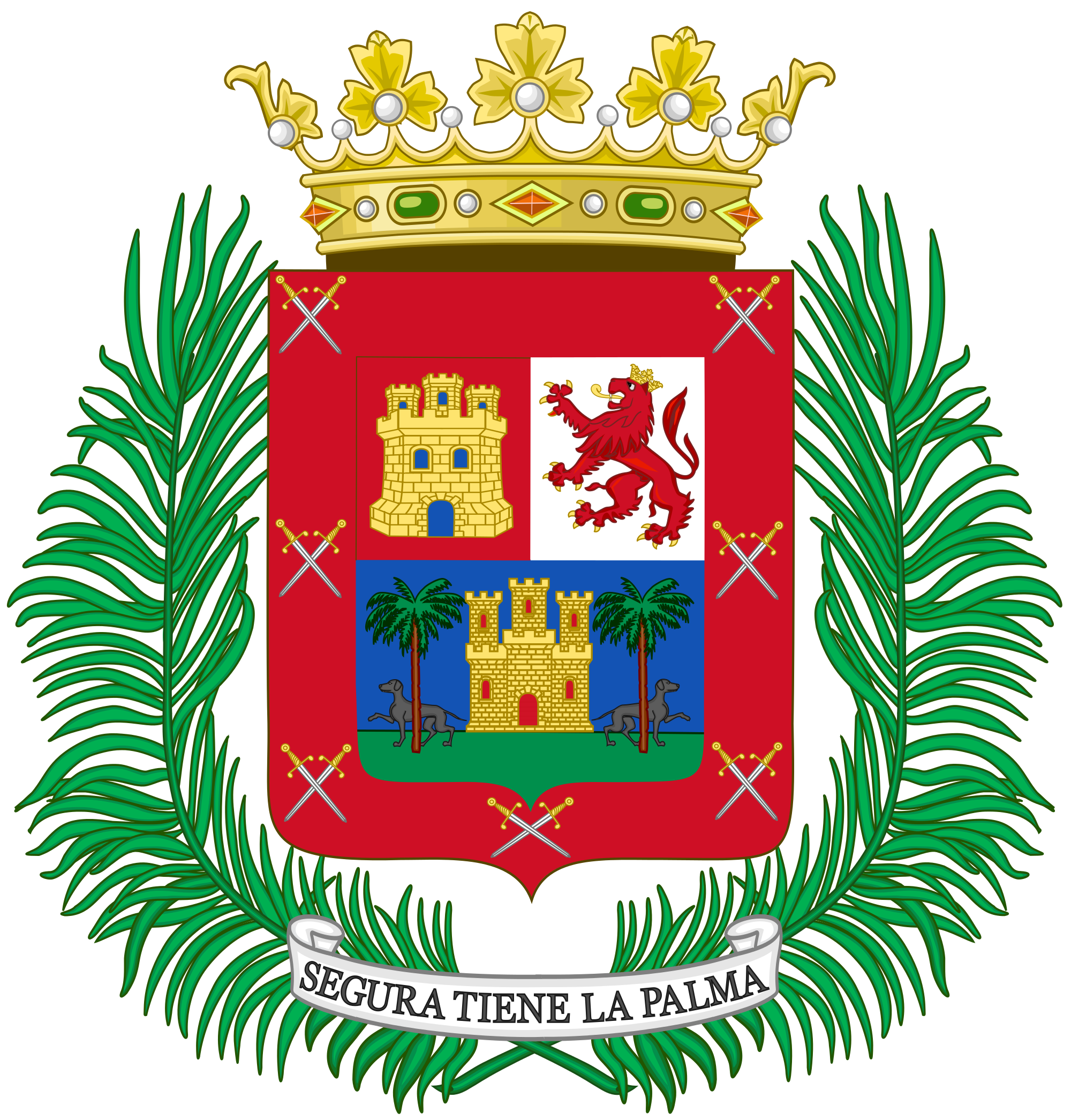 File:Coat of Arms of Las Palmas de Gran Canaria.svg.