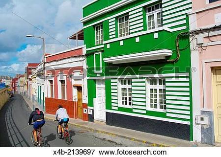 Picture of Calle Santiago Tejera Ossavarry street, San Cristobal.
