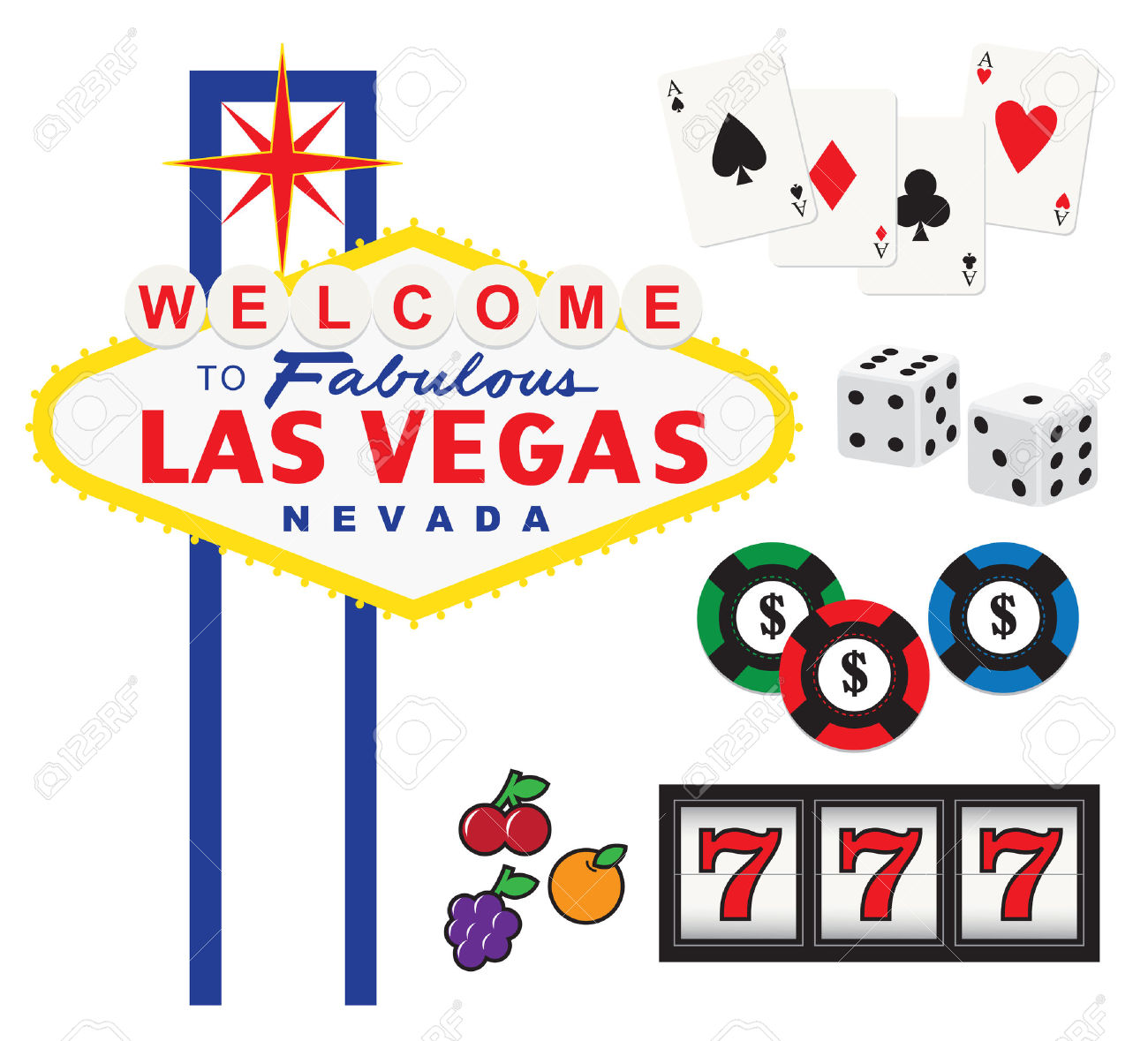 5,153 Las Vegas Cliparts, Stock Vector And Royalty Free Las Vegas.