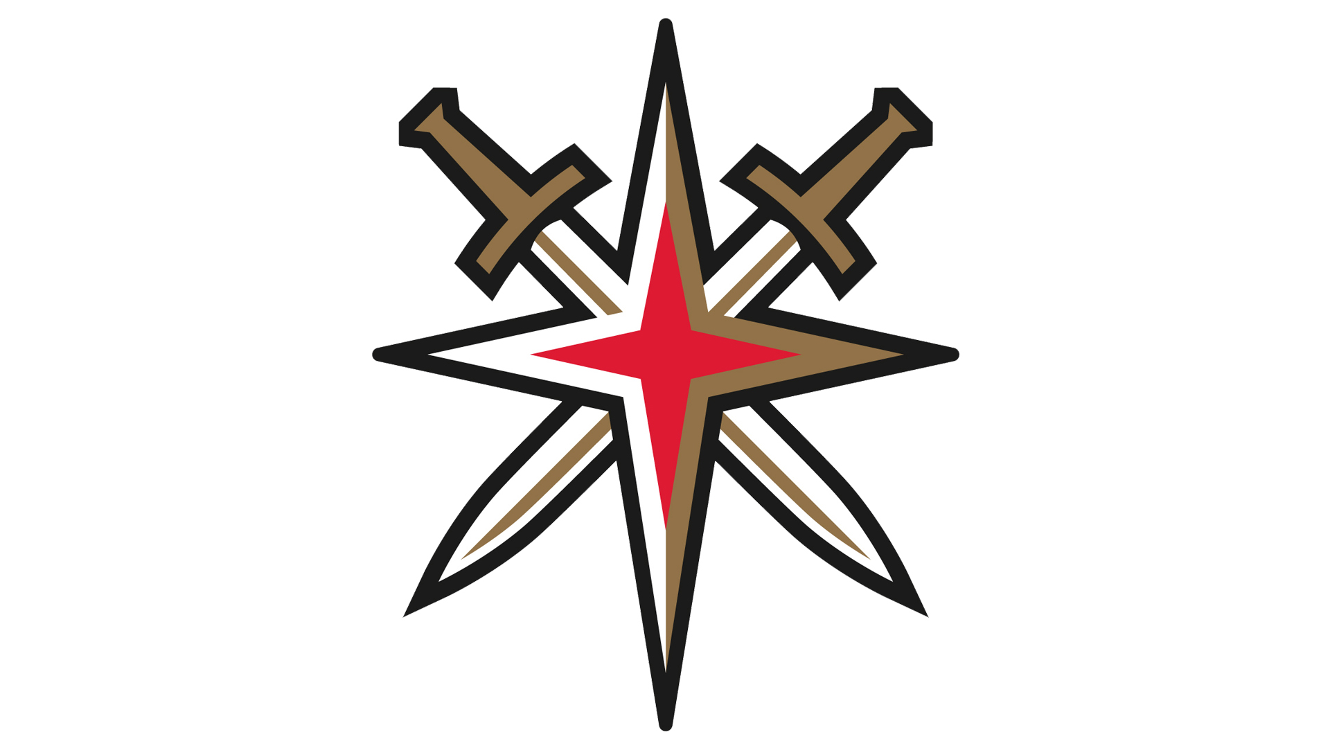 Meaning Vegas Golden Knights logo and symbol.